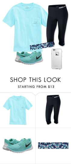 """""""Sporty"""" by victoriaekechukwu ❤ liked on Polyvore featuring Vineyard Vines, NIKE, Victoria's Secret and LifeProof"""