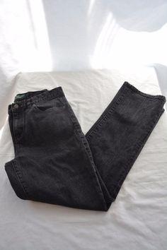 Women's Lauren Ralph Lauren Classic Straight Jeans - Sz 6 - GUC - Black - 0003 #LaurenRalphLauren #StraightLeg
