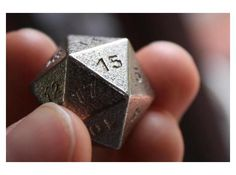 #3Dprinting #20SidedDice #dice by BeepBeep3D