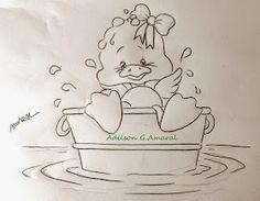 Arte * Vida: Patinho no Banho