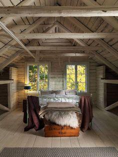 Beautiful attic room