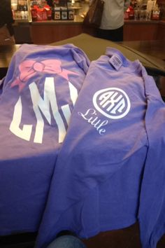 Big little shirts! Etsy.com PCDrDesigns.... these are so gunna be a thing!!!