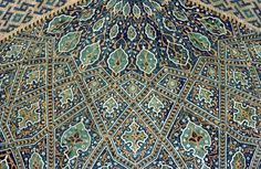 Pattern in Islamic Art - Tillya-Kari Madrassa (Registan complex)