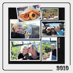 Creating a Scrapbook Page with Google Picasa - Step 3 -
