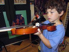 Ulysse au violon électrique