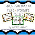 This+freebie+includes+all+5+Whole+Brain+Teaching+Rules+as+well+as+the+procedures+whole+brainers+use+on+a+daily+basis.  Pack+includes: Rule+#+1+Foll...