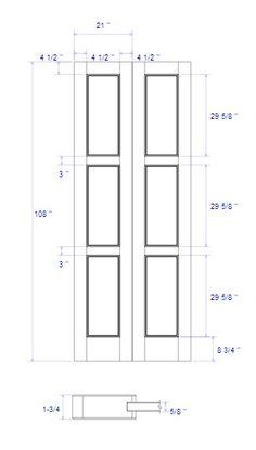 double doors master bath and closet modern option