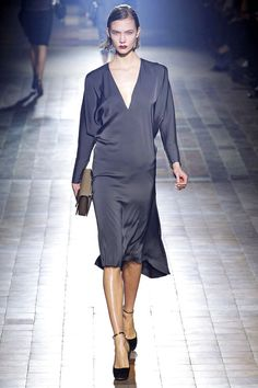 Grey Color Dress #Fashion #Trend for Fall Winter 2013  Lanvin F/W 2013