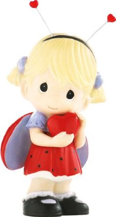 Precious Moments Lady Bug with Heart Figurine
