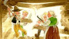 Hölmöläistarinat ovat erittäin suosittuja Suomessa – niitä käytetään usein jopa oppimateriaalina niin suomalaisten kuin ruotsinsuomalaistenkin koulujen ... Fairy Tale Story Book, Fairy Tales, Finnish Language, Historian, Finland, Teaching, Painting, School Stuff, Youtube