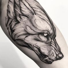 40 Cool Animal Tattoos That You Shouldn't Miss Out On - . - 40 Cool Animal Tattoos That You Shouldn't Miss Out On – # - Neue Tattoos, Body Art Tattoos, Small Tattoos, Tattoos For Guys, Sleeve Tattoos, Animal Tattoos For Men, 21 Tattoo, Tattoo You, Wolf Tattoo Design