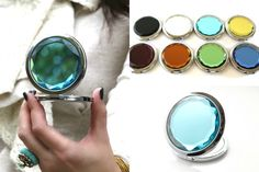 Jeweled Compact Mirror    Check yourself out in style!    75% OFF