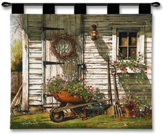 Spring Cleaning Wall Tapestry by Rossini at AllPosters.com