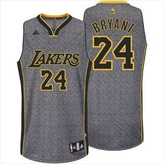 Mens Los Angeles Lakers Kobe Bryant 24 All-Over Static Basketball NBA Jersey on eBid United States