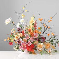 Incredibly lifelike paper flower arrangement                                                                                                                                                     More