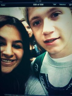 Twitter / 1DUpdatesOnline: New photo of Niall with a fan ...