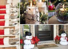 81 Unique and Easy DIY Christmas Crafts for Kids Homemade Christmas Crafts, Christmas Crafts To Sell, Christmas Diy, Christmas Decorations, Simple Christmas, All Things Christmas, Easy Diy Crafts, Crafts To Make, Christmas Wonderland