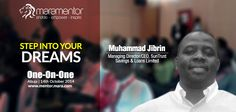 Mentees are looking forward to mentorship lessons at #Mara1on1 from Muhammad Jibrin, an ingenious entrepreneur.