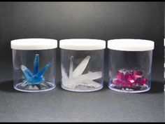 Grow your colourful crystal in the container provided. It's a fun sparkling chemistry experiment. Alum Crystals, Borax Crystals, Diy Crystals, Diy Crystal Growing, Growing Crystals, Grow Your Own Crystals, How To Make Crystals, Cute Crafts, Diy Crafts For Kids