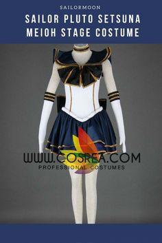 Sailormoon Sailor Pluto Setsuna Meioh Stage Cosplay Costume