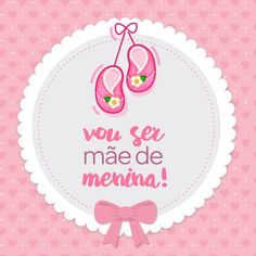 Vou ser mãe de menina   It's a girl   Encontre todos os mimos e enxovais para a sua menina em nossa loja . www.lojapapi.com.br