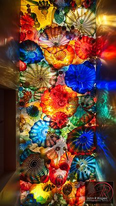 Dale Chihuly Persian Seaform Ceiling, OKC | Flickr - Photo Sharing!