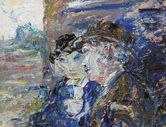 Jack Butler Yeats (Irish, The Comforter, Irish Painters, Jack B, William Butler Yeats, Odilon Redon, Irish Art, Art Auction, Still Life, Oil On Canvas, Modern Art