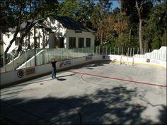 Backyard roller rink 3