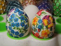 Мастер класс: Пасхальные яйца (декупаж). Decoupage. Easter eggs. - YouTube