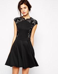 Mini Dress in Lace