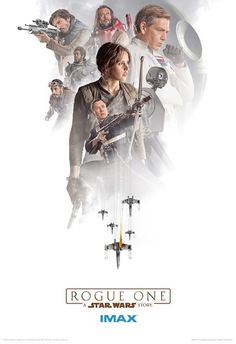 IMAX unveils three new Rogue One: A Star Wars Story posters