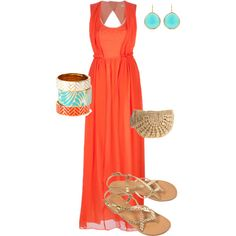 Honeymoon outfit, created by princessb8784 on Polyvore