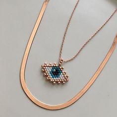 Miyuki göz&İtalyan zincirKredi kartı ile alışveriş için www.atelier407.com.tr #silver #design #jewellery #necklace #rosegold #takı #gümüş #miyuki #kolye #gümüşkolye #tarz #zincirkolye #zincir #italyan #moda #style #trend #swarovski #hediyelik #atelier_407