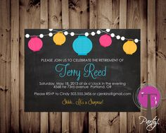 Retirement Party Invitation Dinner Party invitation by T3DesignsCo, $12.99