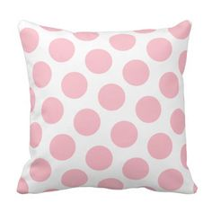 Pink Polka Dot Throw Pillow online after you search a lot for where to buyShopping Pink Polka Dot Throw Pillow today easy to Shops & Purchase Online - transferred directly secure and trusted checkout. Pink Pillows, Throw Pillows, Custom Pillows, Decorative Pillows, Everything Pink, Blue Polka Dots, Backrest Pillow, Cool Patterns, Soft Furnishings