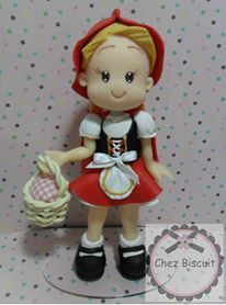 Little Red Riding Hood Cake topper