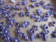 Schritt-für-Schritt-Anleitung: Blüten aus Fondant | Zuckerwerkstatt