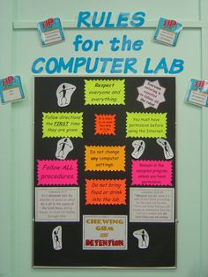 Rule for the Computer Lab