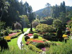 Butchart gardens - Bing Images