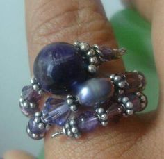 61 best Diy Memory Wire Rings images on Pinterest | Wire rings ...