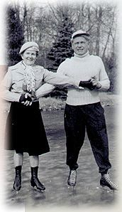Clara and Joseph Pilates skating #pilates #history