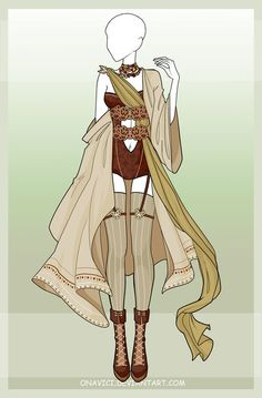 [CLOSED] Outfit adopt 10 by onavici.deviantart.com on @DeviantArt