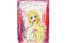 courtney love 'she's not even pretty' art installation at the uber famous fred torres gallery.-) i love this image! Rock And Roll Artists, Grunge Art, Courtney Love, Exhibition Space, Love Drawings, Pretty Art, Installation Art, Love Art, My Images
