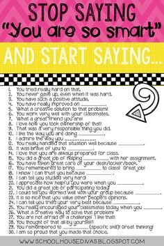 30 encouraging things to say to kids