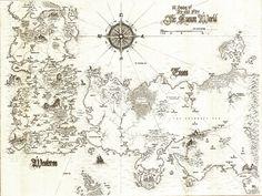ASOIAF Speculative World Map - Full by lucas-reiner.deviantart.com on @DeviantArt