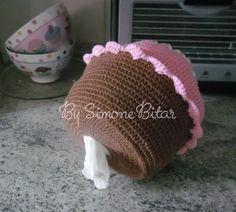 LANÇAMENTO!!!!!!!!!!!!!!!!  Puxa Saco Cupcake em Crochê  Quer saber mais? Vem aqui: http://recantodasborboletas-simoninha.blogspot.com.br/ Vou ficar muito feliz com sua visitinha!