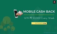 Because of huge demand, we are extending our mobile cash back offer to next week. Start playing rummy with your mobile app and win up to Rs.50,000.  #rummy #onlinerummy #rummygame #onlinegame #games