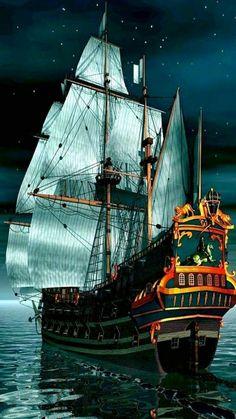 Skull & Bones Merchant Galleon.