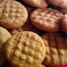Magic Peanutbutter- Made these as a kidm measurements were 1: - 1 ea, 1 c, 1 tsp. I remember these being delicious!