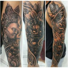 Chinese theme tattoo